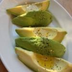 丁度食べごろ シンプルに塩と粗びきコショウ、オリーブオイルで