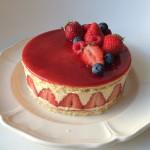 イチゴのケーキ フレジェ
