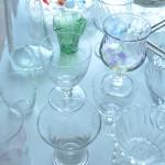我が家の 涼しげなガラスの器たち